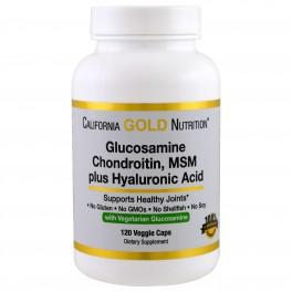 CGN  Glucosamine, Chondroitin, MSM plus Hyaluronic 120 капс