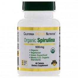 CGN Organic Spirulina 500 mg 60 табл