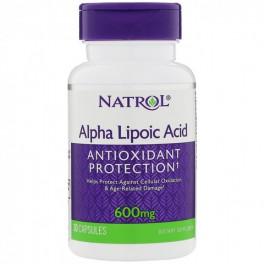 Natrol Альфа-липоевая кислота 600 мг 30  капс