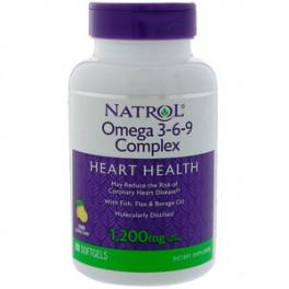 Natrol Омега-3-6-9 60  капс