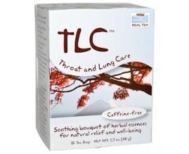 NOW Чай для горла и легких (без кофеина) 24 пак