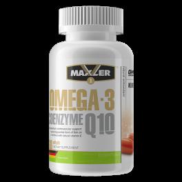Maxler Omega-3 Coenzyme Q10 60 капс