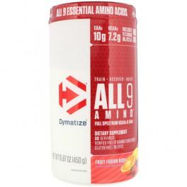 Dymatize All 9 Amino 450 гр