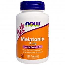 NOW Мелатонин 3 мг 180  капс