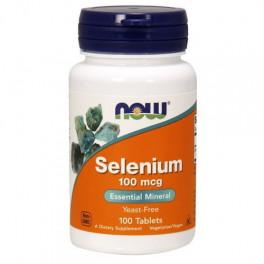 NOW Selenium 100 мкг 250 таб
