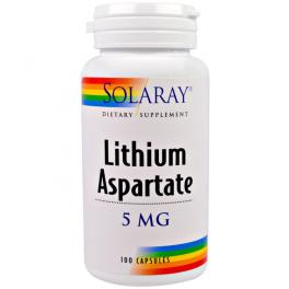 Solaray Аспартат лития 5 мг 100 капс