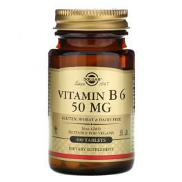 Solgar Витамин B6 50 мг 100 таб