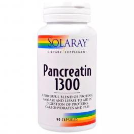 Solaray Панкреатин 1300 90 капс